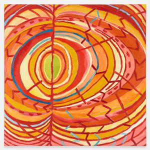 Advancing Impulses by Mildred Thompson contemporary artwork