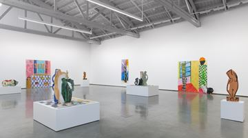 Contemporary art exhibition, Betty Woodman, Shadows and Silhouettes at David Kordansky Gallery, Los Angeles