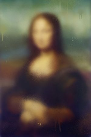 MONA LISA by Miaz Brothers contemporary artwork