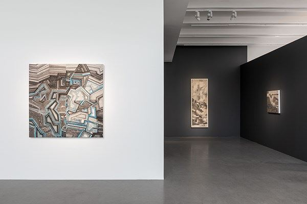 Exhibition view: Wang Jieyin, Boundless Sky – Wang Jieyin's New Ink Paintings, Asia Art Center, Beijing (6 November–20 December 2020). Courtesy Aisa Art Center.