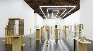 Contemporary art exhibition, Wang Luyan, Corresponding Non-correspondence at Beijing Commune, China