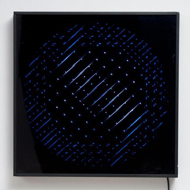 """SLV """"R. VOD + TONDI D."""" by Grazia Varisco contemporary artwork"""