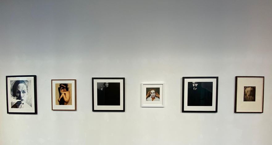 Exhibition view: Sandro Miller,Malkovich Malkovich Malkovich! Homage to photographic masters by Sandro Miller,Gallery FIFTY ONE TOO, Antwerp (17 November 2020–30 January 2021). Courtesy Gallery FIFTY ONE.