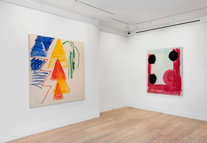 Exhibition view: Kimber Smith, Paintings: 1967 – 1980, Cheim & Read, New York (5 March–4 September 2020). Courtesy Cheim & Read.