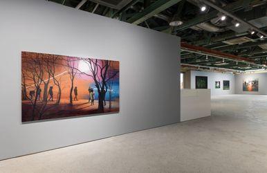 Exhibition view: Jina Park,Human Lights, Kukje Gallery, Seoul (6 August–12 September 2021). Courtesy Kukje Gallery.