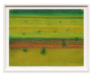 Landscape with Bushes by Richard Artschwager contemporary artwork
