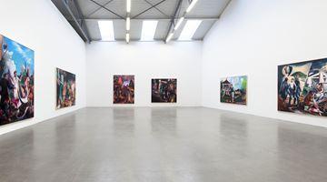 Contemporary art exhibition, Neo Rauch, Handlauf at Galerie Eigen + Art, Berlin