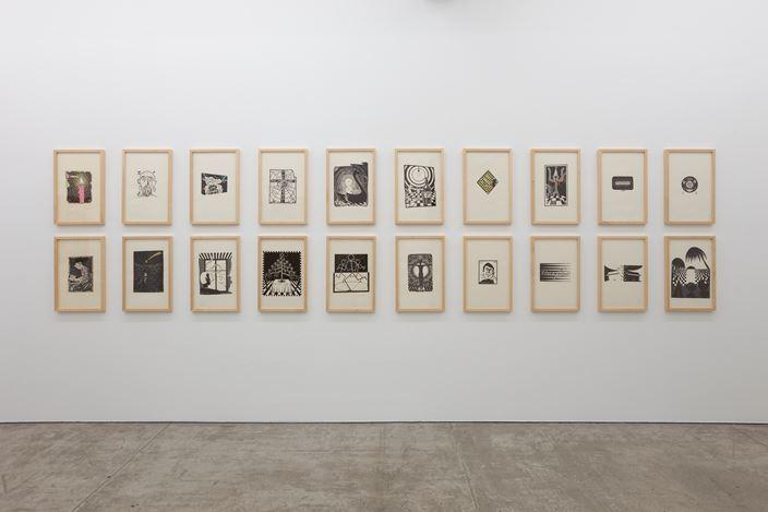 Exhibition view: Jean-Frédéric Schnyder, TARO NASU, Tokyo (6 July–4 August 2018).© Jean Frederic Schnyder. Courtesy TARO NASU. Photo: Kei Okano.