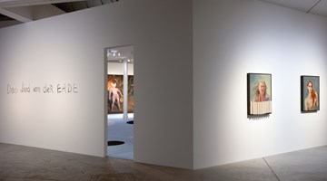 Contemporary art exhibition, Kati Heck, Heimlich Manoeuvre at Sadie Coles HQ, Kingly Street, London, United Kingdom