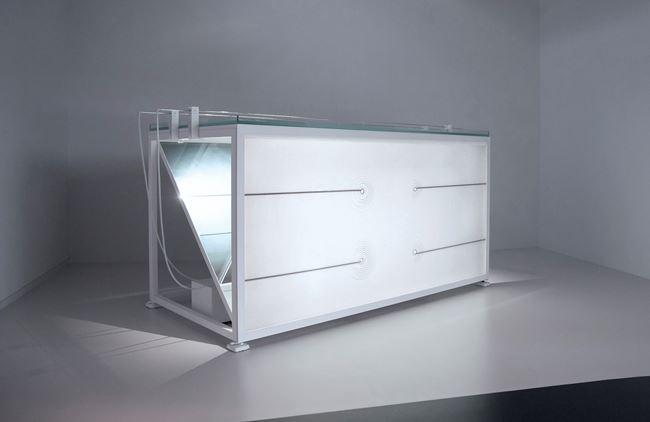 wellenwanne lfo by Carsten Nicolai contemporary artwork