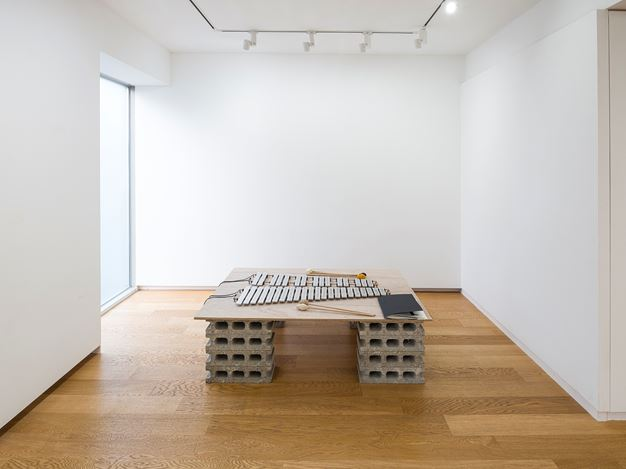 Exhibition view:Hejum Bä and Sascha Pohle, Form/less, Whistle, Seoul (22 November–28 December 2019) Courtesy Whistle.