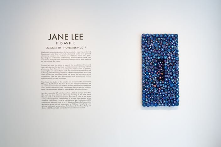 Exhibition view: Jane Lee, It Is as It Is,Sundaram Tagore Gallery, Chelsea, New York (10 October–9 November 2019). Courtesy Sundaram Tagore Gallery.