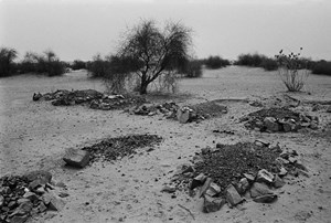 Graveyard, from the series 'Places, Traces' by Gauri Gill contemporary artwork