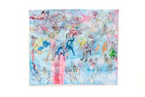Tornado IV by Edu de Barros contemporary artwork