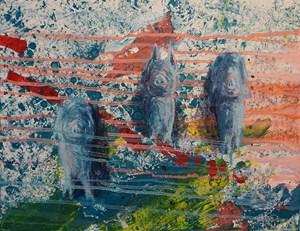 Cold family by Takashi Hara contemporary artwork