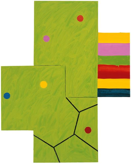 Chemical Billy by Mary Heilmann contemporary artwork