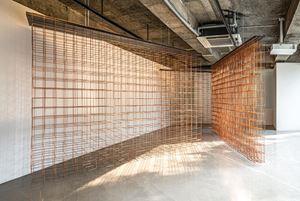 Perchance, Copper Glance; Interval;  Detour, Contour by Jinnie Seo contemporary artwork