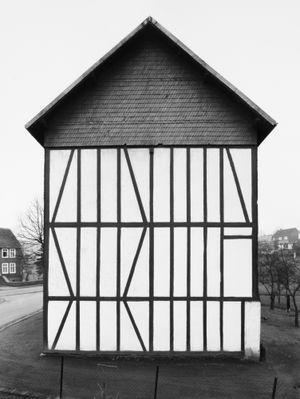 Framework House: Rensdorfstraße 1, Salchendorf by Bernd & Hilla Becher contemporary artwork