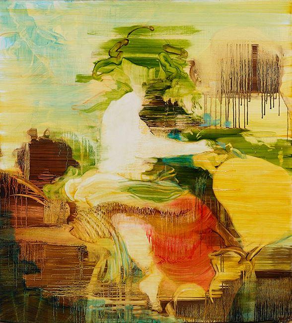 Bacchus (after Velazquez) by Adrienne Gaha contemporary artwork