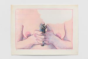The Model's Revenge by Alexis Hunter contemporary artwork