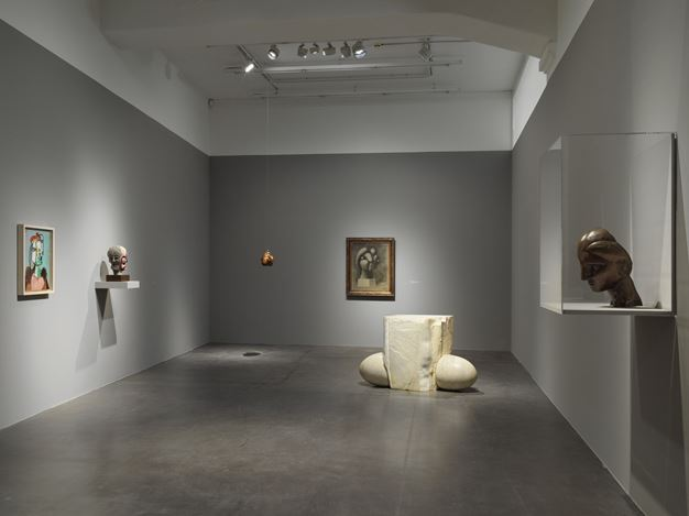 Exhibition view: Louise Bourgeois & Pablo Picasso, Anatomies of Desire, Hauser & Wirth, Zürich (9 June–14 September 2019). © The Easton Foundation / Succession Picasso / 2019, ProLitteris, Zurich. Courtesy the The Easton Foundation, Succession Picasso and Hauser & Wirth.