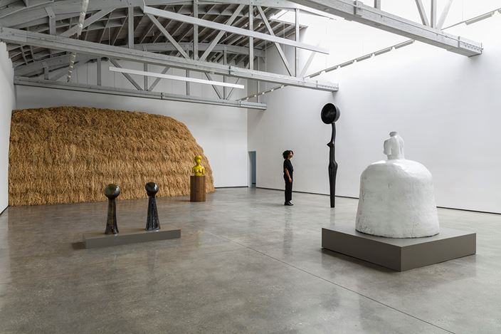Exhibition view: Simone Leigh, David Kordansky Gallery, Los Angeles (26 May–11 July 2020). David Kordansky Gallery, Los Angeles. Photo: Jeff McLane .