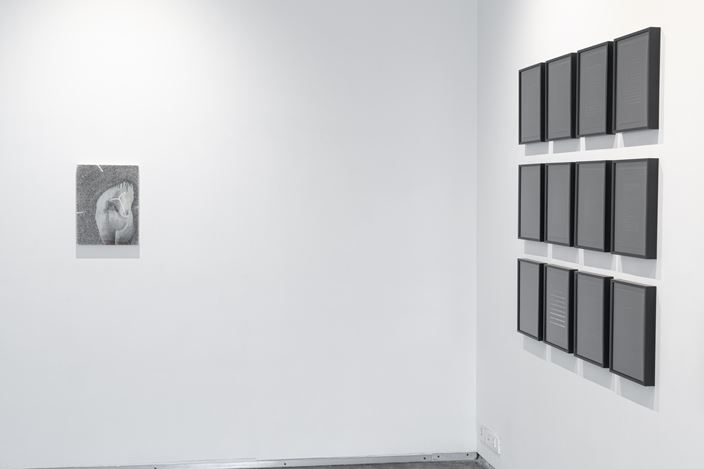 Exhibition view: Group Show, Searching for Stars Amongst the Crescents, Experimenter,Ballygunge Place,Kolkata (23 August–25 October 2019). Courtesy Experimenter.