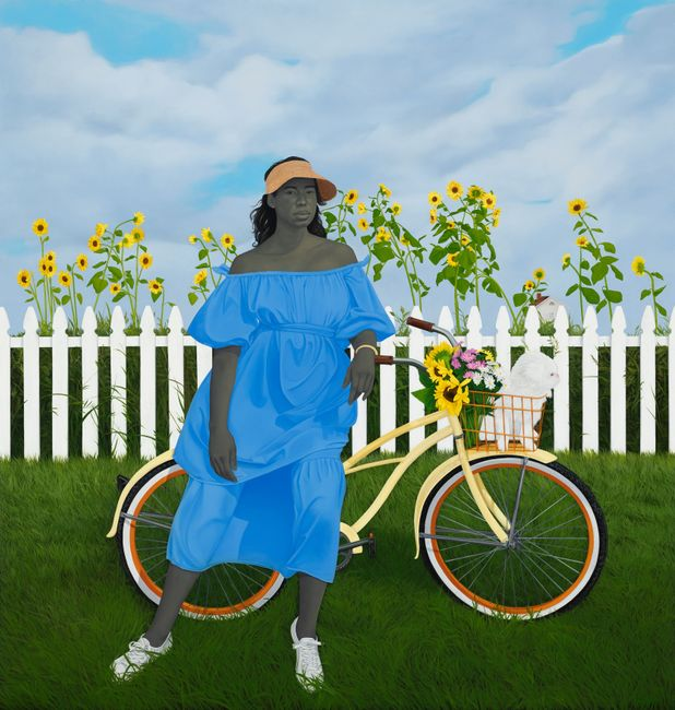 A Midsummer Afternoon Dream by Amy Sherald contemporary artwork