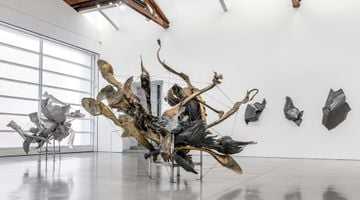 Contemporary art exhibition, Nancy Rubins, Fluid Space at Gagosian, Beverly Hills, USA