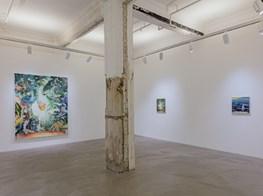 "Matthias Weischer<br><em>Traces to nowhere</em><br><span class=""oc-gallery"">Lehmann Maupin</span>"