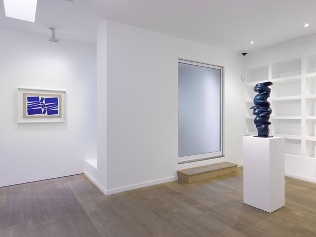 Exhibition view: Group Exhibition, Lisson Gallery, Bell St, London (8 December 2020–12 January 2021). Courtesy Lisson Gallery.