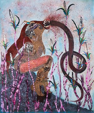 Even by Wangechi Mutu contemporary artwork