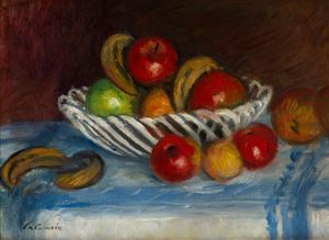 Corbeille de fruits by Charles Camoin contemporary artwork