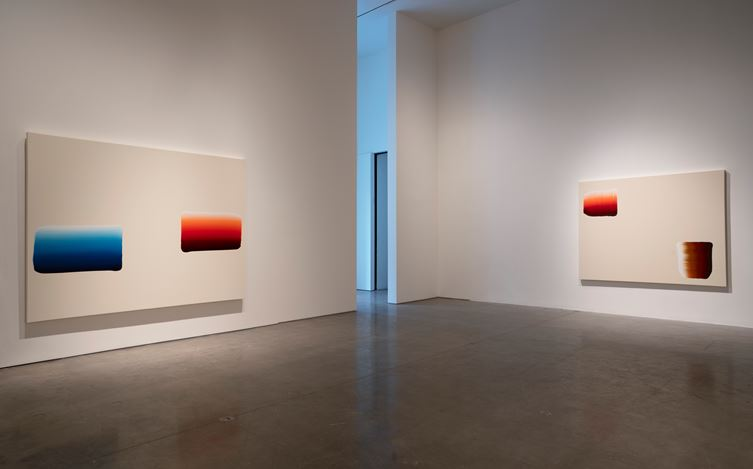 Exhibition view: Lee Ufan, Pace Gallery, 510 West 25th Street, New York (14 September–13 October 2018). © 2018 Artists Rights Society (ARS), New York / ADAGP, Paris. Courtesy Pace Gallery. Photo: Mark Waldhauser.