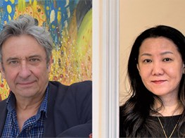 Andrew Stahl and Guo Xiaohui