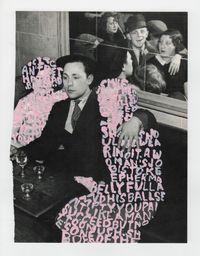 Women Words (Brassaï #7) by Betty Tompkins contemporary artwork painting, works on paper