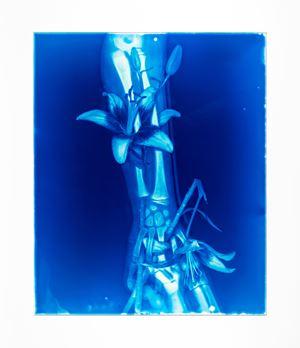 Blood Blue No.22 by Hu Weiyi contemporary artwork
