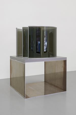 Round and Around by Dan Graham contemporary artwork