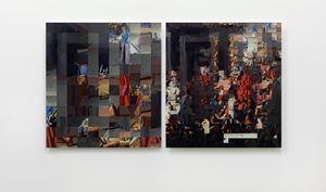 The Logic of Two by Rashid Rana contemporary artwork