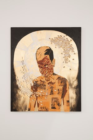 A portrait of the cometboy as a bearer of memories by Timothy Hyunsoo Lee contemporary artwork