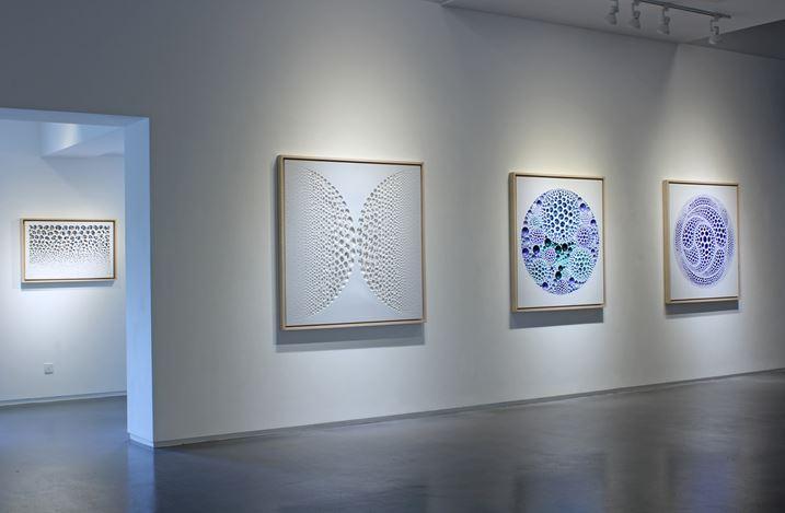 Exhibition view: Kim Jaeil,Visual and Perception, Sundaram Tagore Gallery, Singapore (14 February–11 April 2020). Courtesy Sundaram Tagore Gallery.