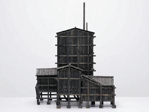 House No 7 by Siah Armajani contemporary artwork