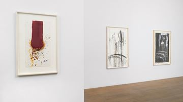 Contemporary art exhibition, Pat Steir, Waterfall Paintings on Paper at Lévy Gorvy, New York