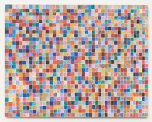 Quasigrid #19 by Howard Smith contemporary artwork