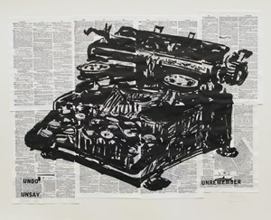 Undo Unsay by William Kentridge contemporary artwork