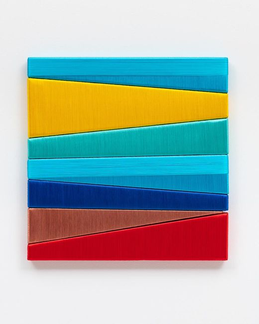 Random Chromatics Pixels N.49 by Alice Anderson contemporary artwork