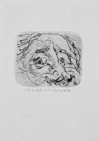 Kopf by Marwan contemporary artwork print