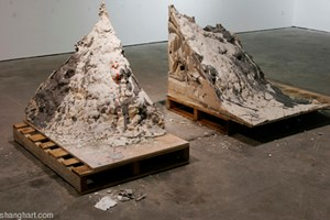 Labor Generate the Surplus Value of Mountains by Shi Qing contemporary artwork