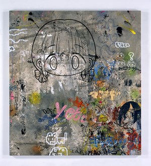 15:53 While Listening to Tokyo Broadcast Station Radio by Mr. contemporary artwork