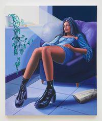 Melahn by Alannah Farrell contemporary artwork painting